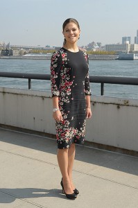 Crown Princess Victoria Of Sweden Visits The United Nations