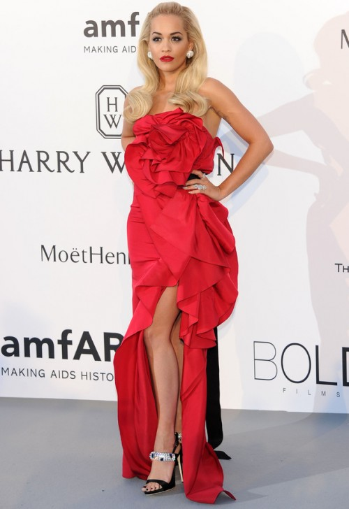 rita-ora-in-red-dress-at-cannes