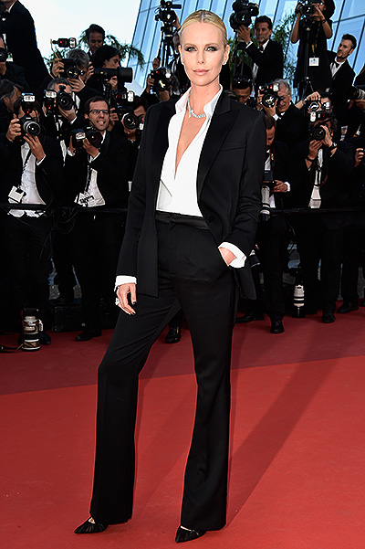 "CANNES, FRANCE - MAY 20: Actress Charlize Theron attends ""The Last Face"" Premiere during the 69th annual Cannes Film Festival at the Palais des Festivals on May 20, 2016 in Cannes, France. (Photo by Pascal Le Segretain/Getty Images)"
